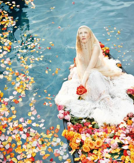 Cate Blanchett, actress, fashion, photography, portrait, Ryan McGinley, Porter, editorial, No.6 Winter 2014