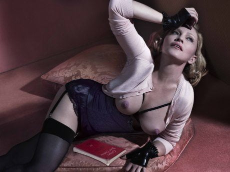 madonna, breasts, topless, 56, interview, interview magazine, controversial, provocative, met & marcus, photography, portrait
