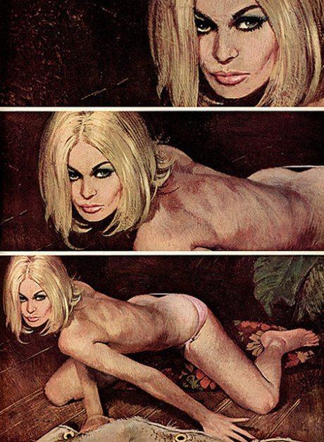 Robert McGinnis, illustration, John D. MacDonald, The Last One Left, pulp fiction, pin up, pulp, sexy