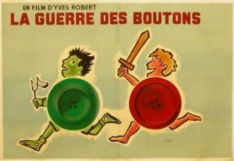 Raymond Savignac, film, film poster, movie poster, illustration, typography, france, lancelot du lac, bic, dunlop,