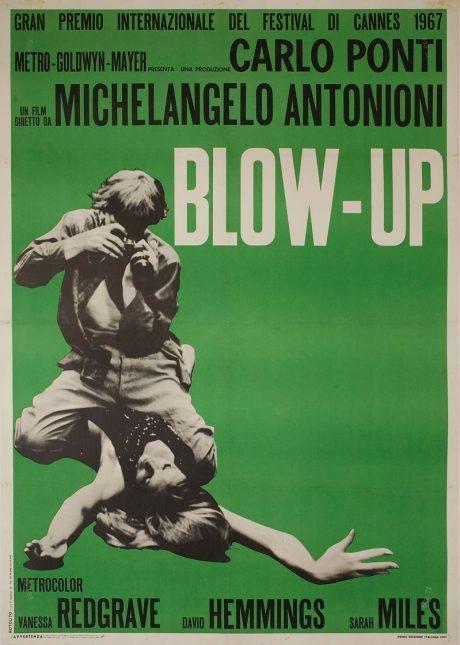 Michelangelo Antonioni, 60s, movie, 1966, film, Don McCullin, film, film poster, poster, photography