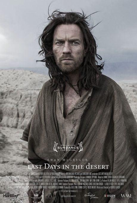 film, actor, Ewan McGregor, Last Days In The Desert, director, Rodrigo Garcia, movie poster, film poster, poster
