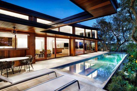 Austin, Texas, Tree House, Miró Rivera Architects, wood, architecture, interiors