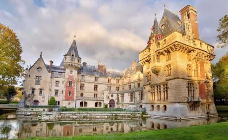 16th Century French Castle, france, castle, architecture, vigny, neb-gothic, gothic, $5.7m