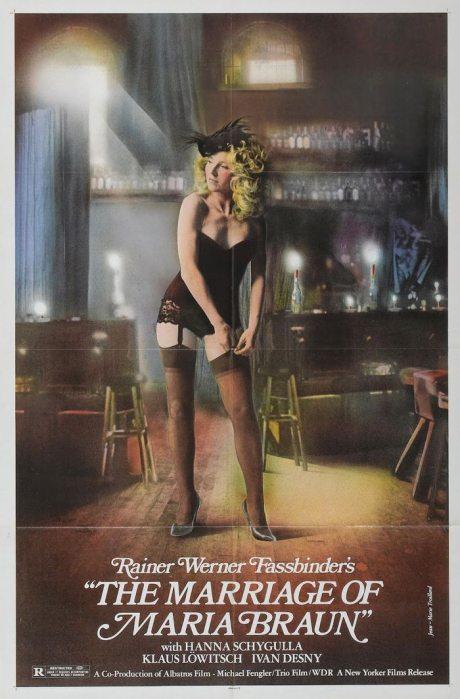 Jean-Marie Troillard, illustration, movie poster, film poster, film, poster, germany, Rainer Werner Fassbinder, 1979, movie, The Marriage of Maria Braun
