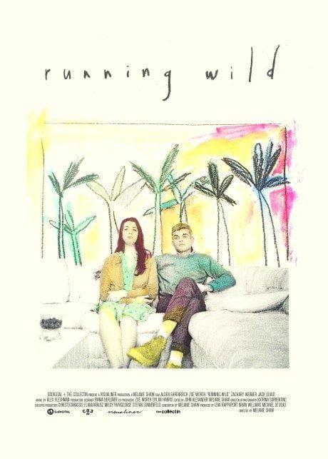 illustration, film poster, film, movie poster, director, Melanie Shaw, movie, poster, Running Wild