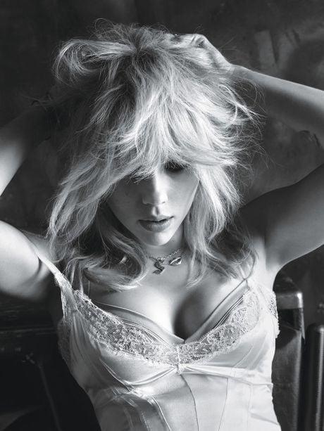 Actress, Scarlett Johansson, photography, Mert & Marcus, W, magazine, March 2015, editorial