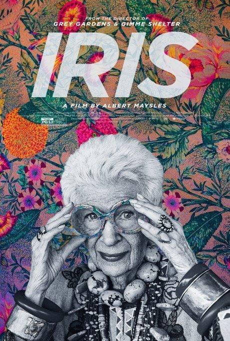 illustration, poster, film, Albert Maysles, movie, Iris, film poster, movie poster
