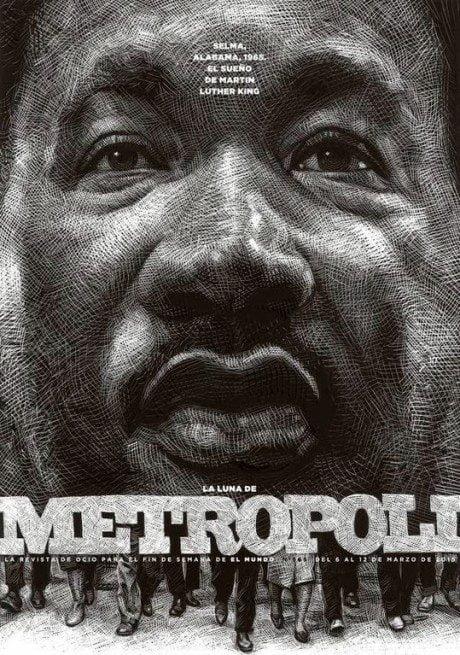 la luna de metropoli, metropoli, magazine, magazine cover, cover, illustration