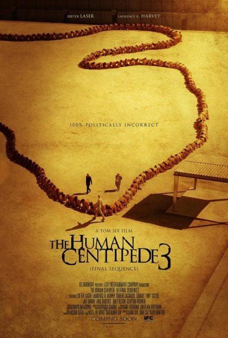 Human Centipede 3, film, film poster, movie poster, horror, sick