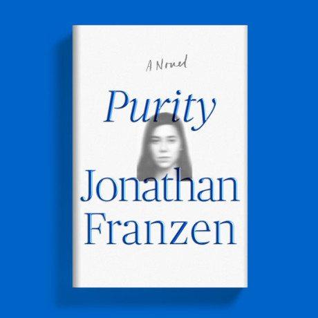 cover, Jonathan Franzen, novel, Purity, book, book cover, typography
