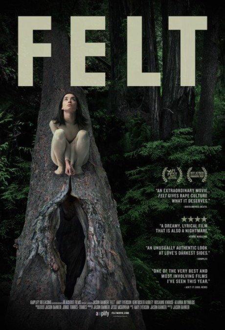 Felt, film, film poster, movie poster, rape culture, erotic, vagina