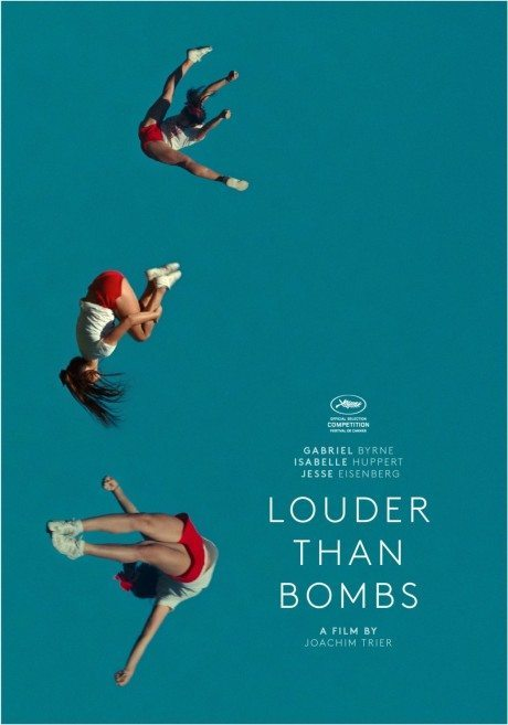 poster, Joachim Trier, movie, Louder Than Bombs, film, film poster, movie poster, flight, gymnastics, acrobatics, cheerleading