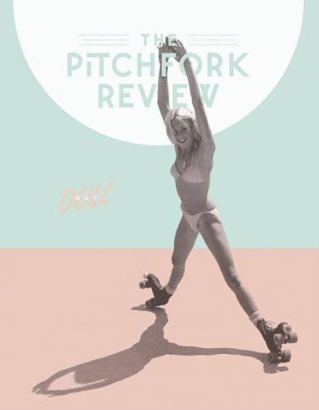 cover, June 2015, the Pitchfork review, magazine, pastel, layout, illustration, rollerskating