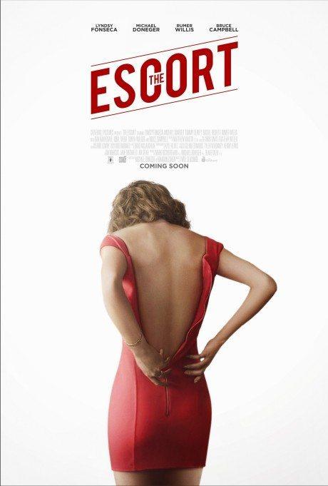 the escort, film poster, movie poster, film, rumer willis