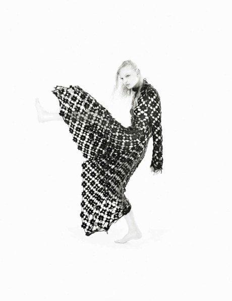 Mario Sorrenti, August 2015, Paris Vogue, Vanessa Moody, Julia Bergshoeff, Frederikke Sofie Falbe-Hansen , fashion, model, black & white, sheer, sexy