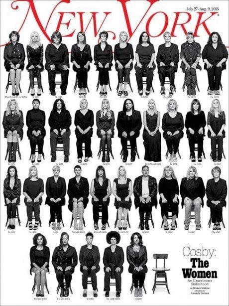 An Unwelcome Sisterhood, new york, magazine, magazine cover, bill cosby, rapist