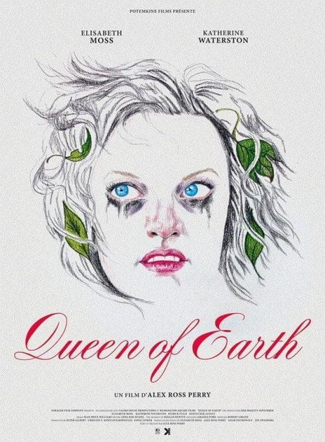 French poster, Queen Of Earth, director, Alex Ross Perry, USA, 2015, poster, artist, Anna Bak-Kvapil, film, film poster, movie poster, illustration