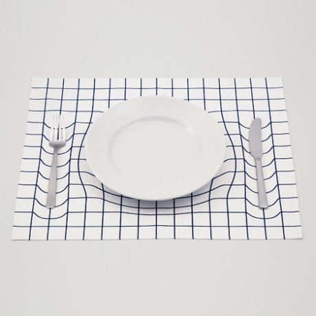 Trick Mat, A.P. Works, optical illusion, kitchen, kitchenware, design, household, interior