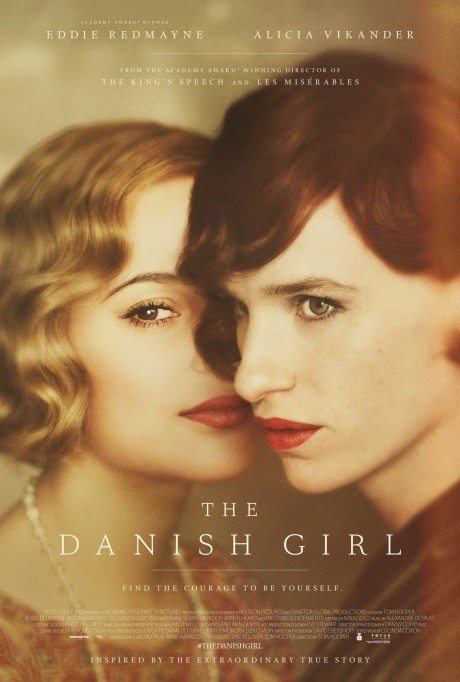 Film poster, Tom Hooper, movie, The Danish Girl, film, movie poster, eddie redmayne