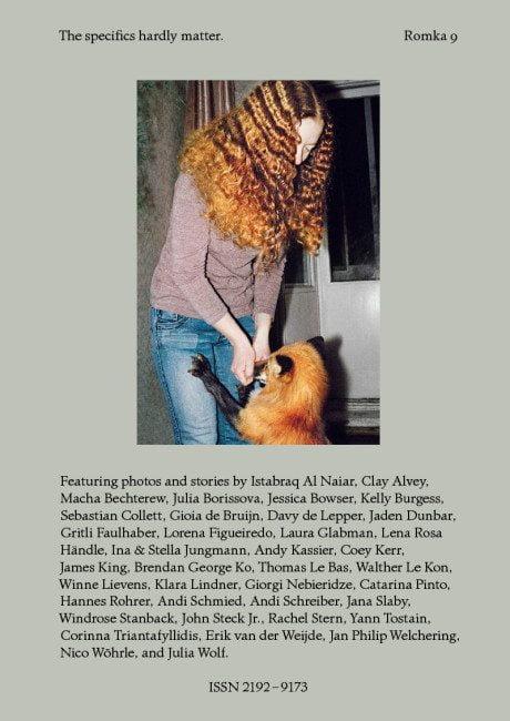 romka, collective, photo album, fox, red head, ginger, photography, cherish, memories,