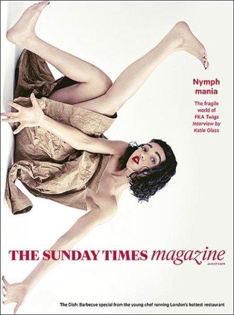 Sunday Times Magazine, supplement, cover, magazine cover, photography, kA twigs, jon jones