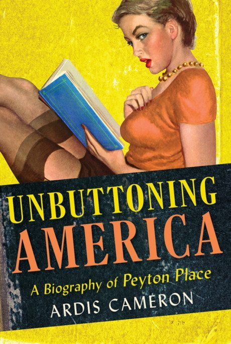 book, book cover, design, illustration, typography, peyton place