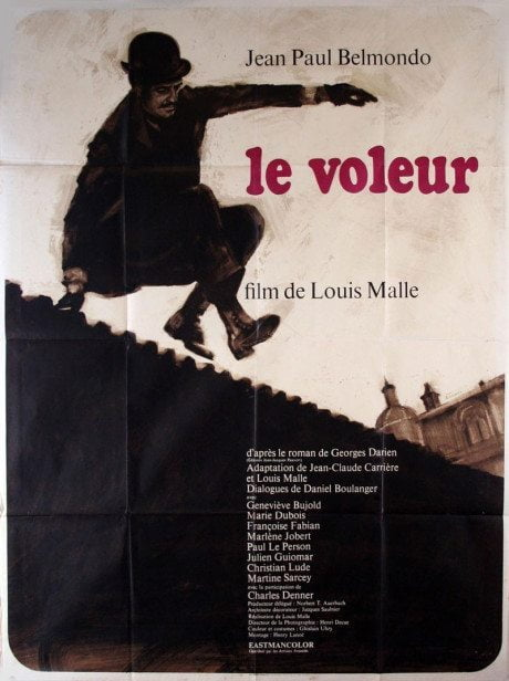 illustration, French, grande, poster, The Thief Of Paris, director, Louis Malle, France, 1967, film poster, movie poster, film