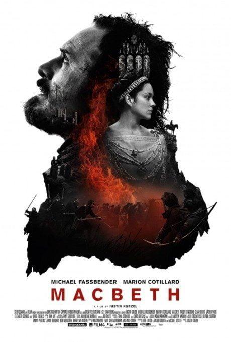 Macbeth, Michael Fassbender, film, film poster, movie poster, poster, shakespeare, william shakespeare