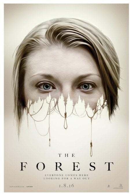the forest, film poster, movie poster, poster, film, horror